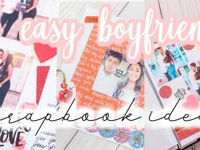 BOYFRIEND Scrapbook DIY Tutorial: 3 easy spreads [Roxy James] #boyfriendscrapbook #scrapbooktutorial