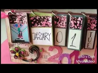 Calendar making tutorial by~ AD's Craft