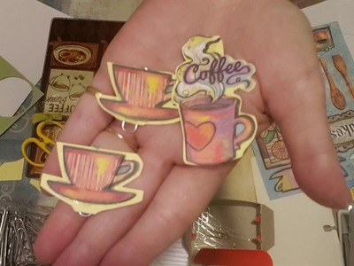 Craft With Me - Follow up Ideas Video 2 - Creating Decorated Flat Paperclips - 3D. Pop-Up stickers