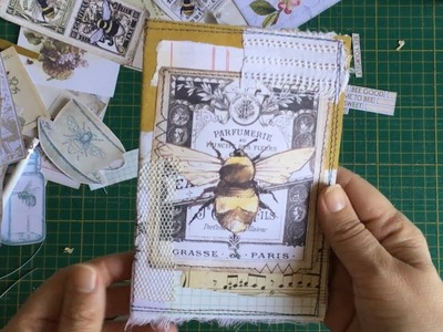 Craft with me | the 100 days project | Day55: Collaboration with 49dragonflies