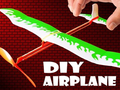 DIY Airplane for a child for $1 | Детский Самолёт Планер своими руками