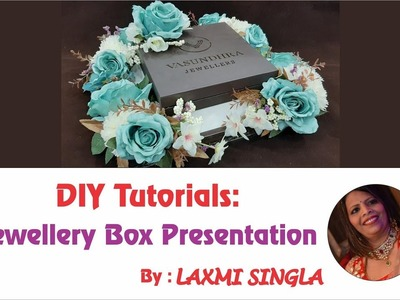 DIY - Jewellery Platter Presentation | Jewellery Gifting Ideas | Jewellery Packing Craft