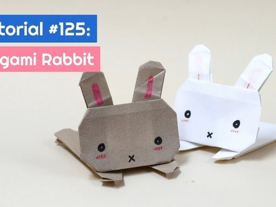 DIY Origami Rabbit Tutorial | The Idea King Tutorial #125
