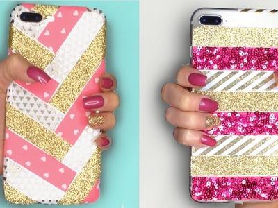 DIY Phone Case Using Washi. Craft Tape