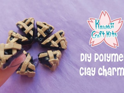 DIY Polymer Clay Charms! (June 2019 Kawaii Craft Kits)