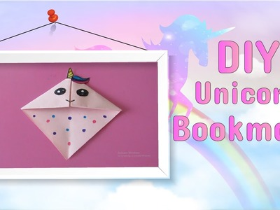 DIY Unicorn Bookmark | Easy Craft Idea