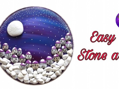 Easy stone craft | Home decoration | Fashion pixies | Best out of waste ideas