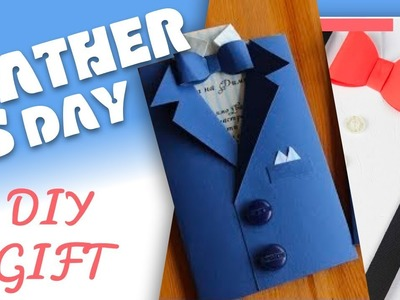Father's day   Best DIY gift   Suit-Tuxedo Paper Art   Greeting Card Tutorial   To Craft