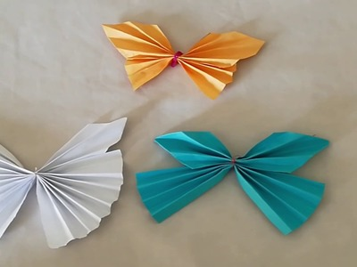 How to make Origami Butterfly - Origami Butterfly Tutorial - Butterfly Origami Craft