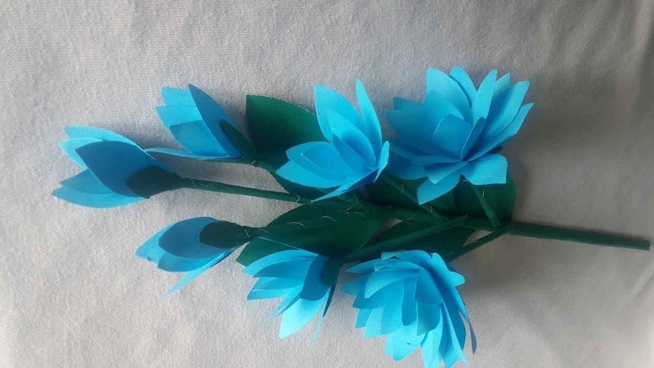 Making How To Make Paper Flowers Diy Paper Flower Making Tutorials