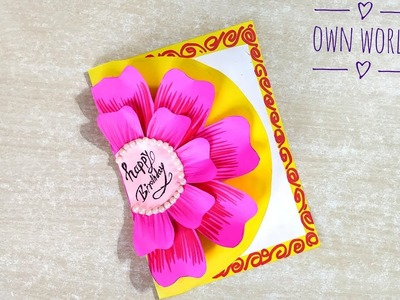 How to make Special Birthday Card For Best Friend.DIY Gift Idea