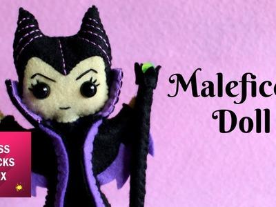 Maleficent Felt Doll DIY Tutorial