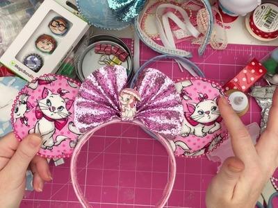 Mega Easy Disney DIY tutorials! Minnie ears, Lanyards, Shoes & top's!