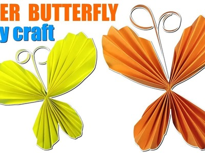 Origami butterfly | How to Make Paper butterfly | Easy Paper Art and Craft  Easy Origami