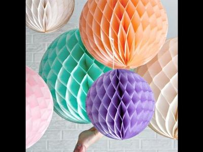 Paper flower making | paper craft diy |