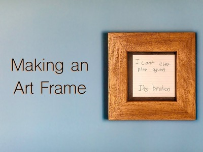 Picture Frames From Reclaimed Oak Flooring. Woodworking. DIY