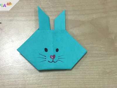 Rabbit Origami Craft - For Kids
