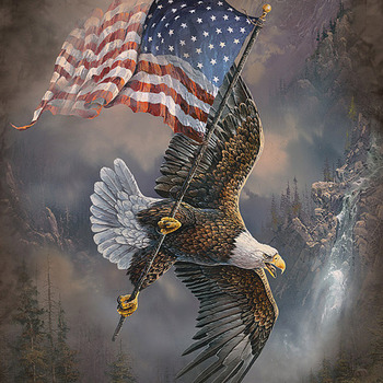 CRAFTS Soaring Over America Cross Stitch Pattern***LOOK***