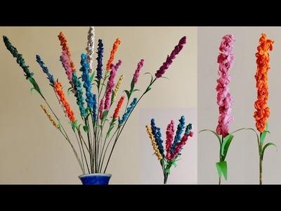 Waste material craft   Decorative sticks using broomsticks   Very beautiful  unique home decor