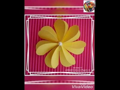 Art cafe DIY Paper Flowers | Flower Making | Handmade