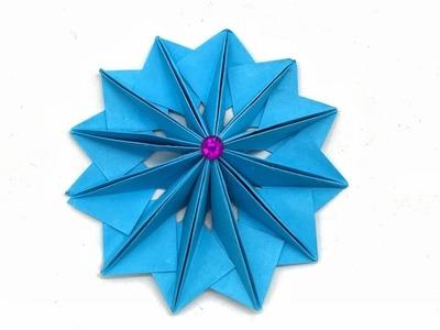 Beautiful Flower- DIY Tutorial by Paper Folds - 987