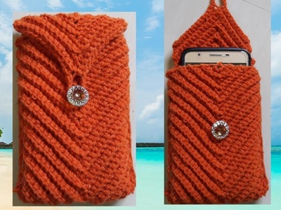 Crochet mobile cover making  tamil