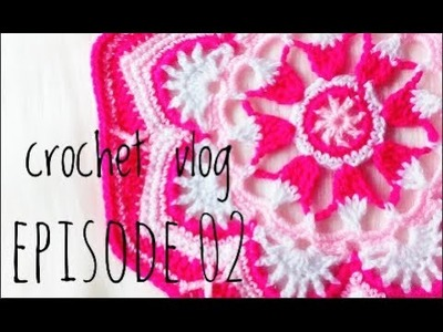Crochet vlog Ep 02: made my first mandala !