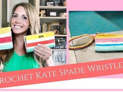 Crochet Wristlet: KATE SPADE INSPIRED PATTERN!!!!
