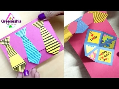 DIY Father's day Greeting card ideas | Handmade Father's day cards | Father's Day Special