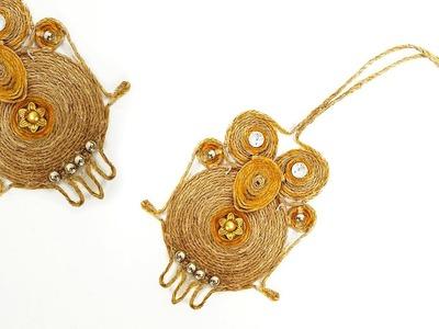DIY Key Chain   Jute Crafts   Crafts Junction