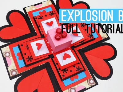 DIY Paper Crafting  Explosion Box | Full Tutorial