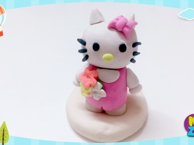 DIY Polymer Clay Hello Kitty Tutorial