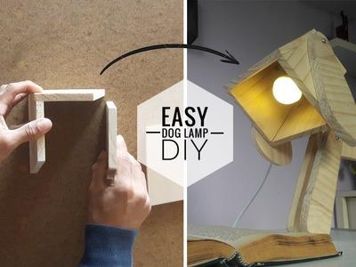 EASY Dog lamp -  DIY