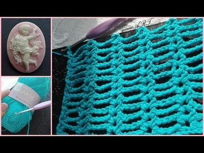 Easy to Crochet Summer Stitch Pattern for Beginners