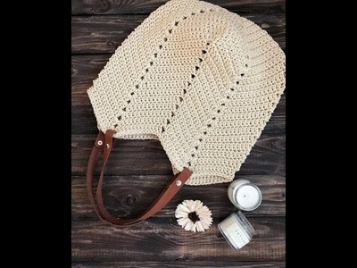 [ENGSUB] Crochet a shoulder bag part 1.2