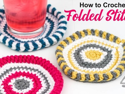 How to Crochet Folded Stitches