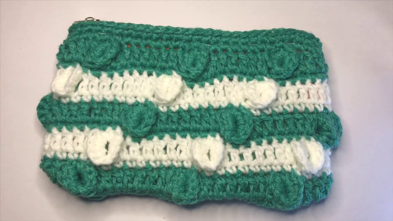 How to Crochet Purse with Circles