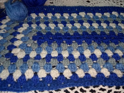 How to make a Crochet Rectangular Table Mat