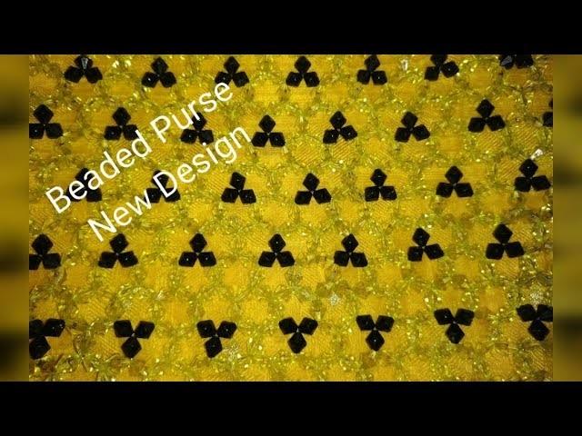 How to Make Beaded  Purse.Putir bag.easy Crystal hand bag.