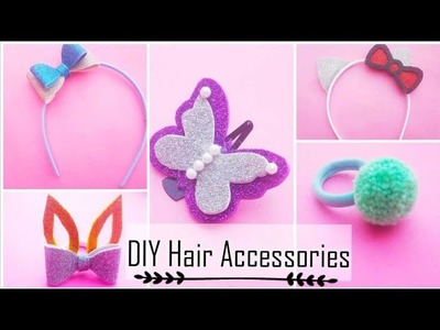 How to make hair accessories| DIY hair accessories|DIY.