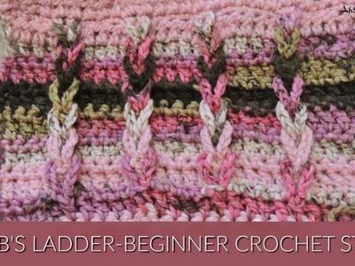 Jacob Ladder Crochet Stitch
