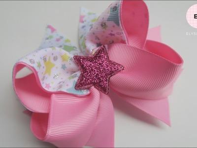 Laço De Fita ???? Ribbon Bow Tutorial #65 ???? DIY by Elysia Handmade