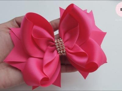 Laço Veneza ???? Ribbon Bow Tutorial #66 ???? DIY by Elysia Handmade