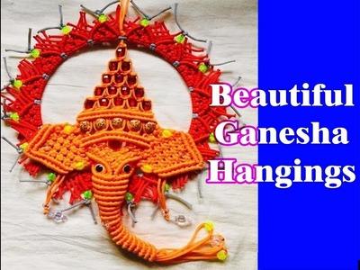 Macrame Ganesha #latest macrame Ganesh #macrameganpati