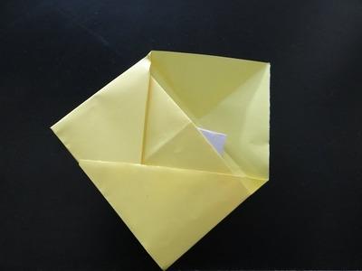 Make Envelope without adhesive or scissors. origami envelope - DIY