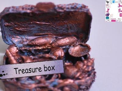 Mixed Media|Treasure Box out of waste|DIY|