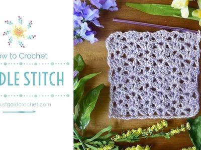 Paddle Stitch   Saturday Stitch Explorers   Crochet Video Tutorial