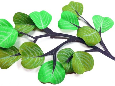 Paper Leaves making for DIY Home Decor. Wall Decoration. Ideas at Home. HandiCraft