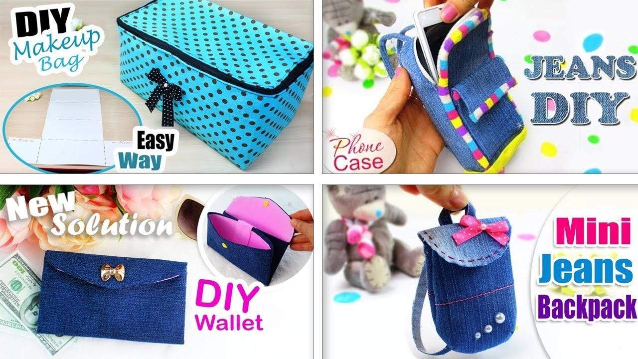 SO CUTE DIY PURSE BAG TUTORIALS. Fast Making Wallet Pouch Bags Ideas