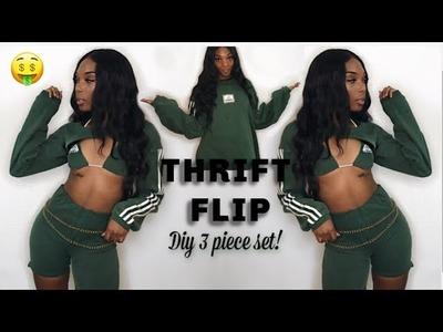THRIFT FLIP: DIY 3 PIECE SET!